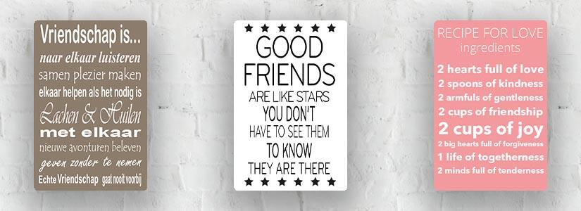 Vriendschap & Liefde