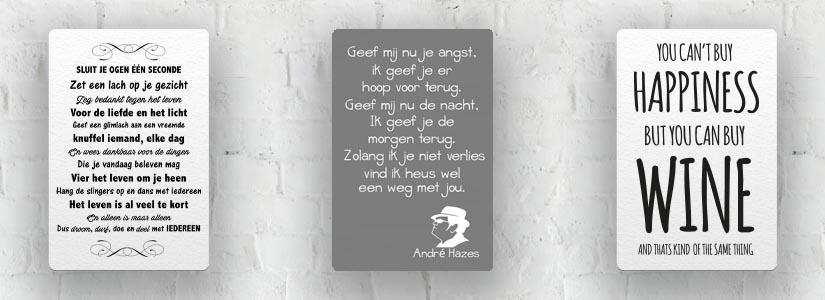 Quotes & Songteksten