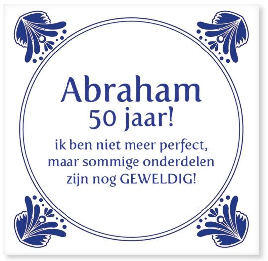 abraham 50 jaar cadeau