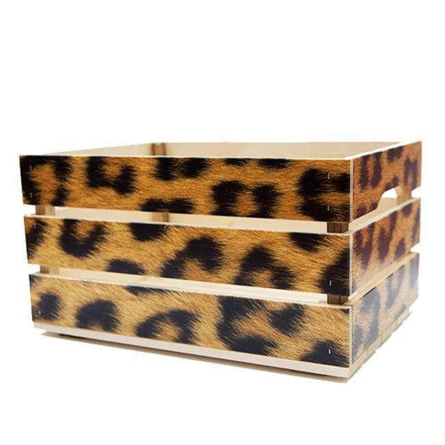 krat luipaard print