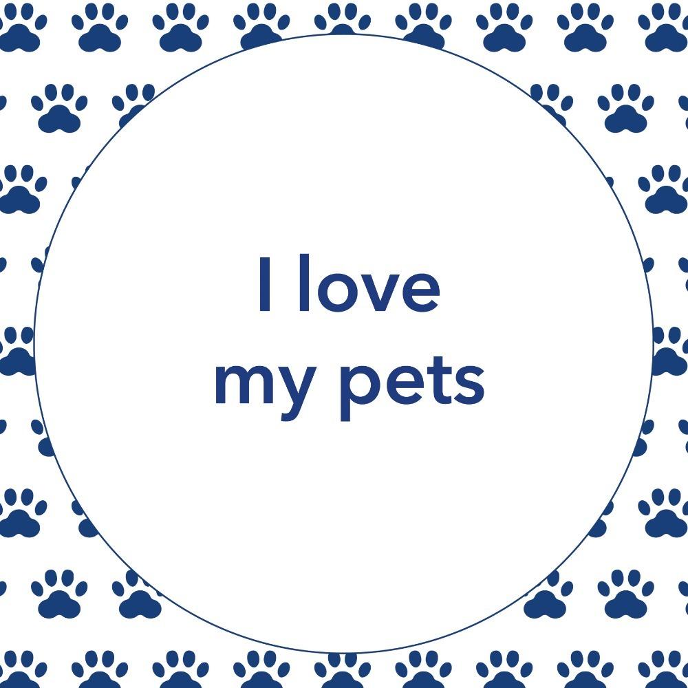 I love my pets - Tegel