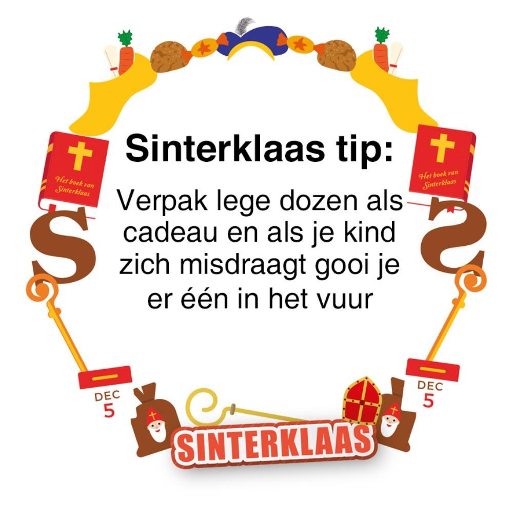 Sinterklaas tip - Tegeltje