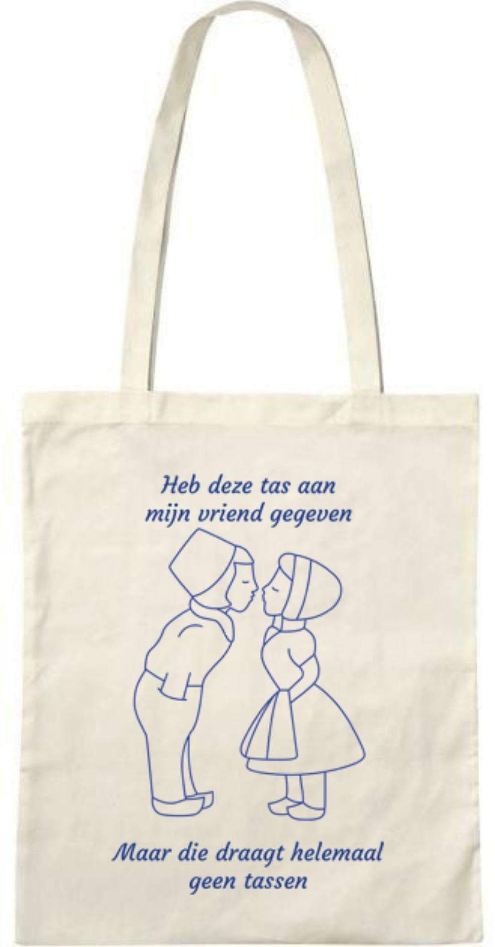 Heb deze tas aan  (mannetje-vrouwtje) - Tasje