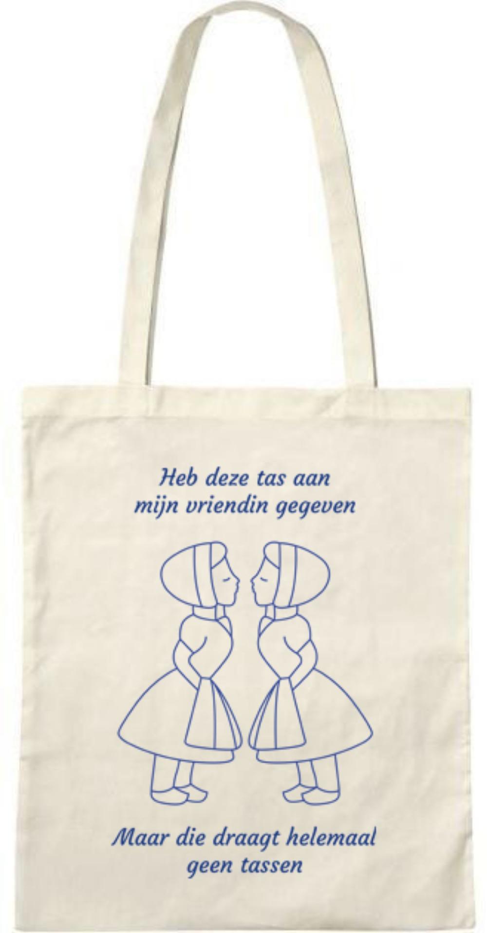 Heb deze tas aan  (vrouwtje-vrouwtje) - Tasje